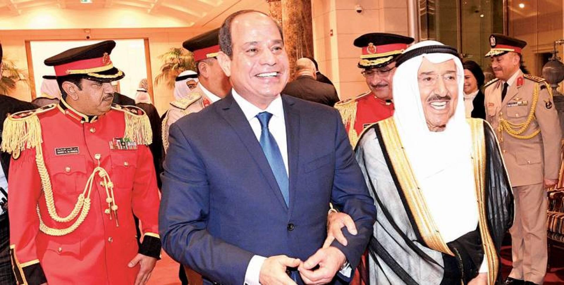 وزير الخارجية الكويتى: نقدر دور مصر فى تعزيز استقرار وأمن العالم العربي