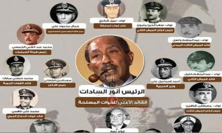 قادة حرب أكتوبر.. أبطال من ذهب حملوا أرواحهم على أيديهم لتحرير أرض مصر
