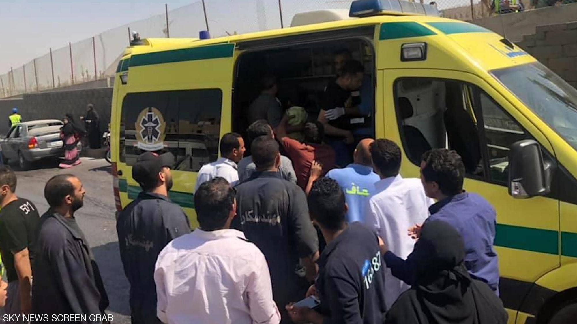 عاجل  انفجار يستهدف حافلة سياحية عند المتحف المصري الكبير.. وإصابة 17 شخصا