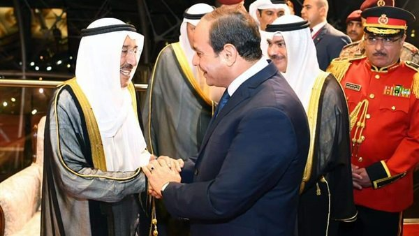 الان ..قمة مصرية كويتية بين الرئيس السيسي وأمير الكويت