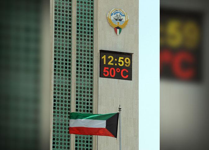 درجات الحرارة في الكويت